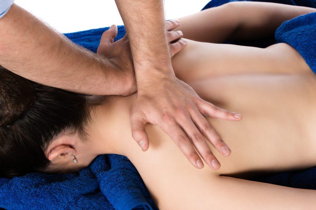 Masaje terapéutico
