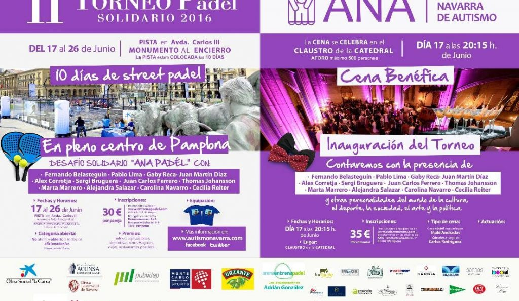 II Torneo de Pádel Solidario ANA